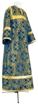 Child stikharion (alb) - metallic brocade BG4 (blue-gold)