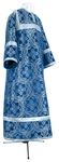 Child stikharion (alb) - metallic brocade BG4 (blue-silver)