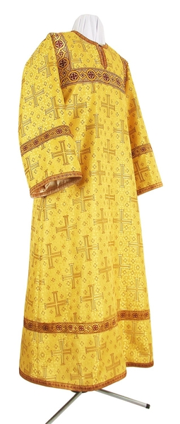 Child stikharion (alb) - metallic brocade BG4 (yellow-claret-gold)