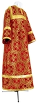 Child stikharion (alb) - metallic brocade BG4 (red-gold)
