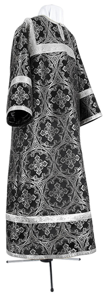 Child stikharion (alb) - metallic brocade BG4 (black-silver)