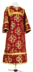 Child stikharion (alb) - rayon brocade S2 (claret-gold)