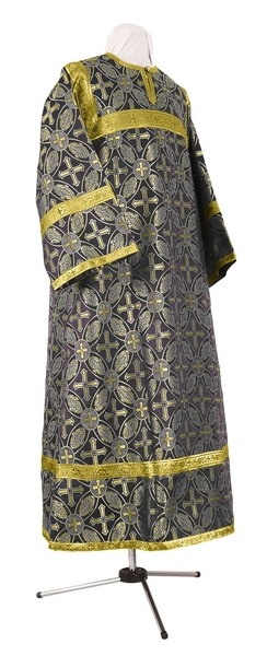 Child stikharion (alb) - rayon brocade S2 (black-gold)