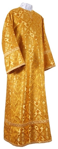Child stikharion (alb) - rayon brocade S2 (yellow-claret-gold)