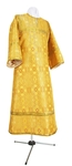 Child stikharion (alb) - rayon brocade S2 (yellow-gold)