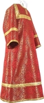 Child stikharion (alb) - rayon brocade S2 (red-gold)
