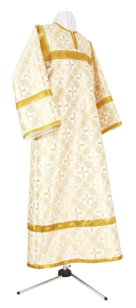 Child stikharion (alb) - rayon brocade S2 (white-gold)