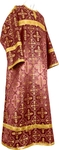 Child stikharion (alb) - rayon brocade S3 (claret-gold)