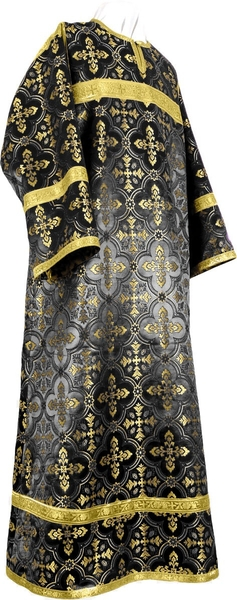 Child stikharion (alb) - rayon brocade S3 (black-gold)