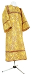 Child stikharion (alb) - rayon brocade S3 (yellow-claret-gold)