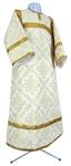 Child stikharion (alb) - rayon brocade S3 (white-gold)
