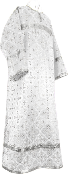 Child stikharion (alb) - rayon brocade S3 (white-silver)