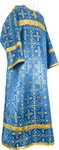 Child stikharion (alb) - rayon brocade S4 (blue-gold)