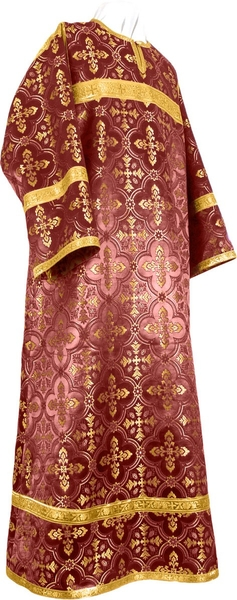 Child stikharion (alb) - rayon brocade S4 (claret-gold)