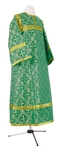 Child stikharion (alb) - rayon brocade S4 (green-gold)