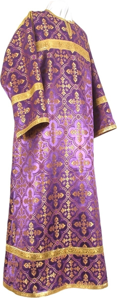 Child stikharion (alb) - rayon brocade S4 (violet-gold)