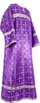 Child stikharion (alb) - rayon brocade S4 (violet-silver)