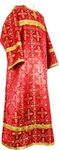 Child stikharion (alb) - rayon brocade S4 (red-gold)