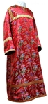 Child stikharion (alb) - rayon Chinese brocade (red-gold)