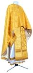 Greek Priest vestment -  metallic brocade BG1 (yellow-claret-gold)