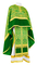 Greek Priest vestment -  metallic brocade BG1 (green-gold)