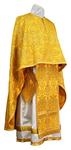 Greek Priest vestment -  metallic brocade BG2 (yellow-gold)