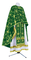 Greek Priest vestments - Golgotha metallic brocade BG2 (green-gold), Standard design