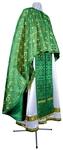 Greek Priest vestment -  metallic brocade BG3 (green-gold)
