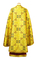Greek Priest vestment -  Korsoun metallic brocade BG6 (yellow-gold) back, Standard design