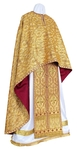 Greek Priest vestment -  metallic brocade BG6 (yellow-gold)