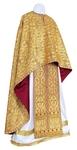 Greek Priest vestment -  metallic brocade BG6 (yellow-gold)