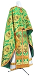 Greek Priest vestment -  metallic brocade BG6 (green-gold)