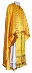 Greek Priest vestment -  rayon brocade S2 (yellow-gold)