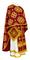Greek Priest vestments - Kostroma rayon brocade S3 (claret-gold), Standard design