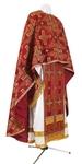 Greek Priest vestment -  rayon brocade S3 (claret-gold)