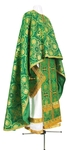 Greek Priest vestment -  rayon brocade S4 (green-gold)