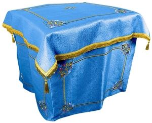 Embroidered Holy Table vestments Balaam (blue-gold)