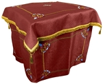 Embroidered Holy Table vestments Balaam (claret-gold)