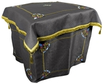 Embroidered Holy Table vestments Balaam (black-gold)