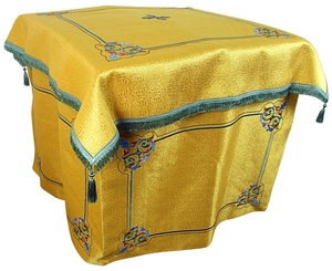Embroidered Holy Table vestments Balaam (yellow-gold)