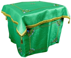 Embroidered Holy Table vestments Balaam (green-gold)