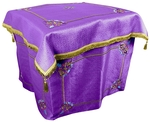 Embroidered Holy Table vestments Balaam (violet-gold)