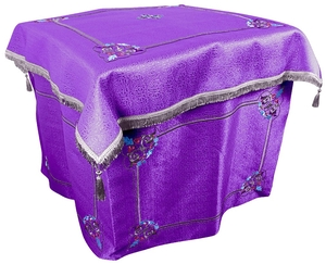 Embroidered Holy Table vestments Balaam (violet-silver)