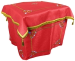 Embroidered Holy Table vestments Balaam (red-gold)