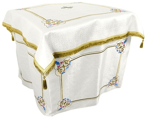 Embroidered Holy Table vestments Balaam (white-gold)