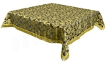 Holy Table cover - brocade B (black-gold)