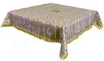 Holy Table cover - brocade B (violet-gold)