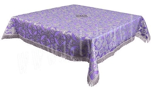 Holy Table cover - brocade B (violet-silver)