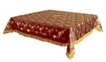 Holy Table cover - brocade BG1 (claret-gold)