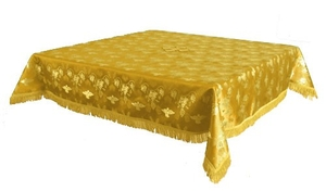 Holy Table cover - brocade BG1 (yellow-gold)